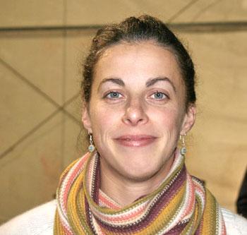 Nadia Verrua, titolare dell'azienda agricola Cascina Tavijn a Scurzolengo (AT)