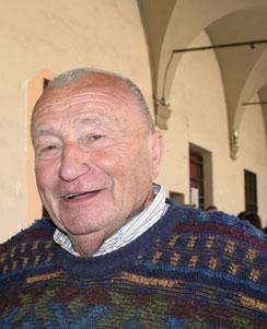 Pino Ratto durante Gusto Nudo a Bologna