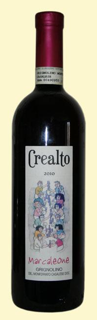 Crealto, Grignolino 2010, vino da agricoltura biologica