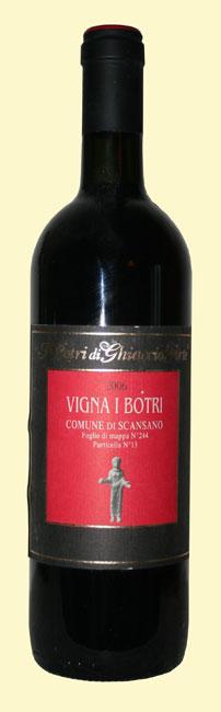 Vigna ai Botri 2006 - Morellino di Scansano biologico
