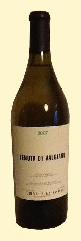Tenuta di Valgiano, Valgiano bianco 2007